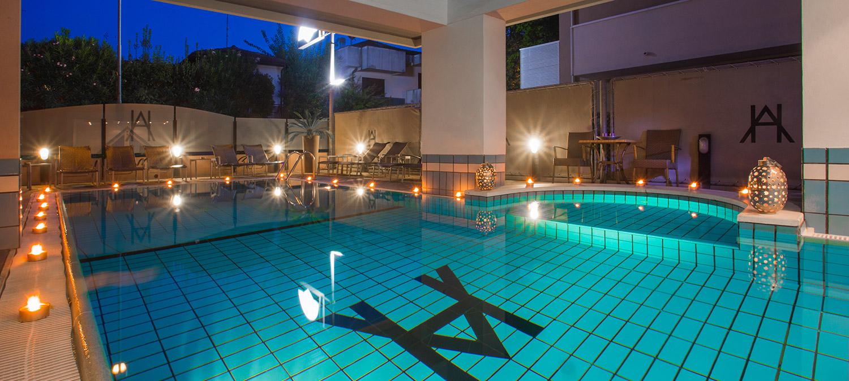 Hotel con piscina a riccione hotel ambassador - Hotel con piscina riscaldata per bambini ...
